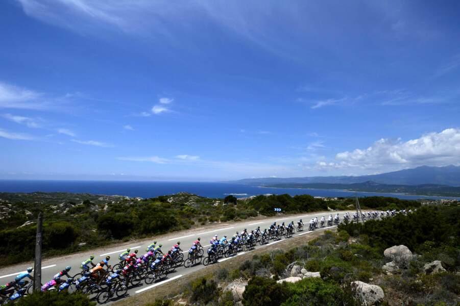 La mer, des montagnes, le maquis, bienvenue en Corse