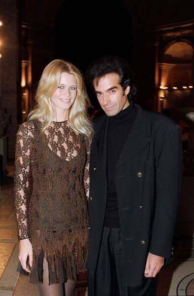 Le prestidigateur superstar David Copperfield fera appel à sa douce Claudia Schiffer pour certains de ses tours.