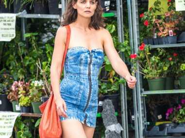 Katie Holmes : accident de robe trop courte et fesses à l'air