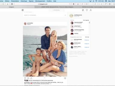 Estelle Lefébure et ses filles, Taylor Swift et ses copines déguisées, Alexandra Lamy et Mélanie Doutey… Les people en bonne compagnie pour Nouvel An