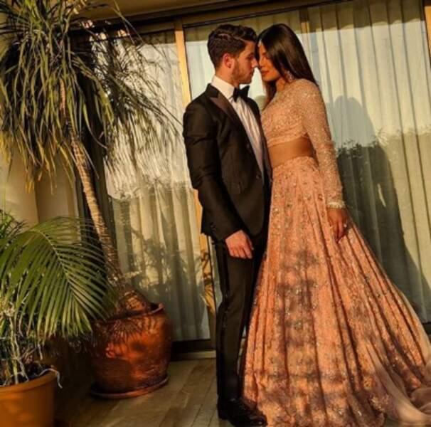 Ils commencent un peu à nous énerver, à force d'être heureux, les jeunes mariés Nick Jonas et Priyanka Chopra...