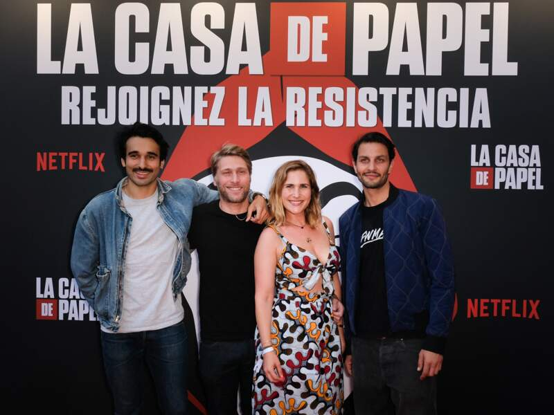 Netflix avait invité les acteurs de sa série française Plan cœur