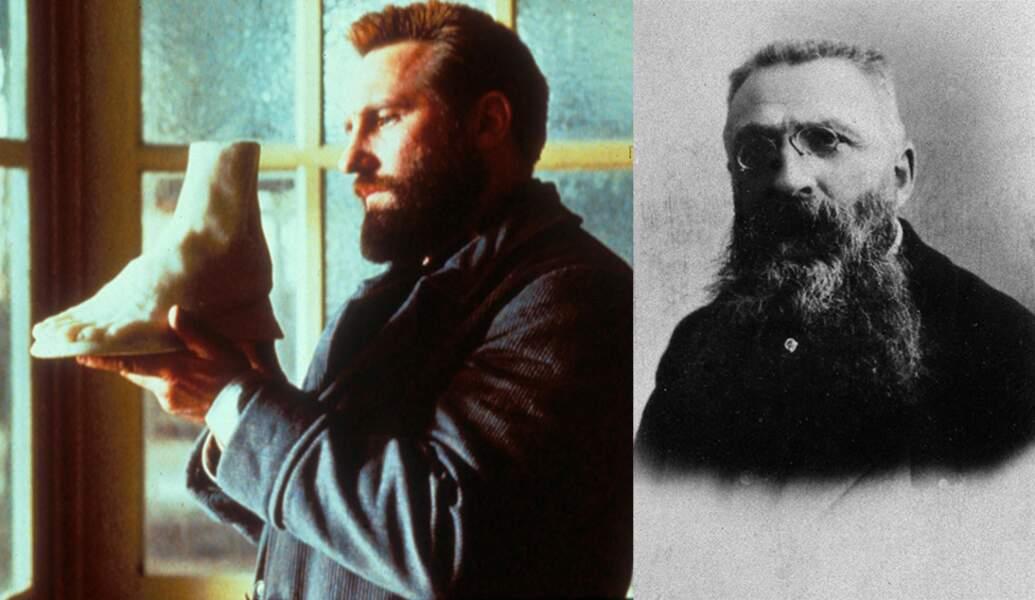 C'est Gérard Depardieu qui lui donne la réplique dans le rôle du grand sculpteur Auguste Rodin