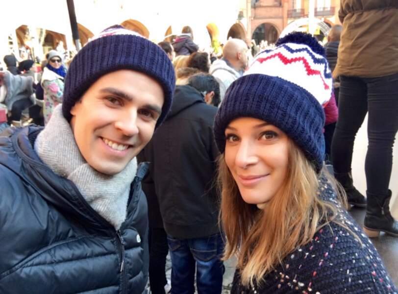 Mais aussi sur le journaliste Jean-Baptiste Marteau, avec qui elle partage... le même bonnet