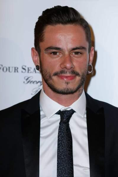 Maximilien Philippe, finaliste de The Voice 2014 (il est arrivé deuxième des votes samedi)