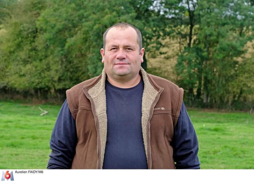 Daniel, 47 ans, éleveur de vaches allaitantes en Normandie