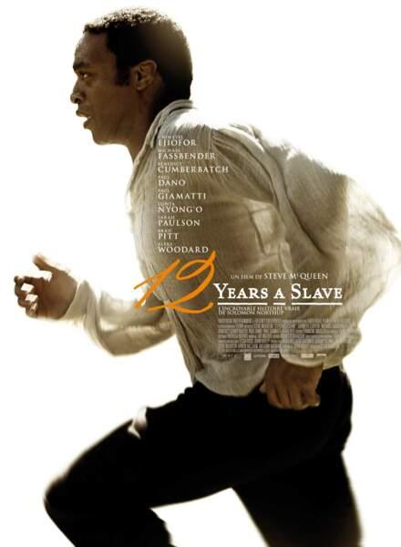 L'affiche de 12 Years a Slave avec Chiwetel Ejiofor