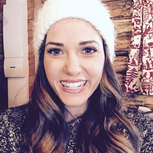 Petit selfie hivernal pour Capucine Anav !