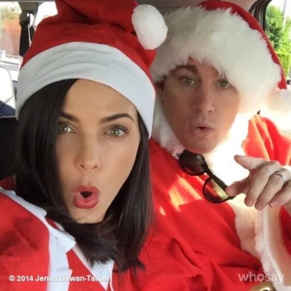 La famille Tatum à Noël !