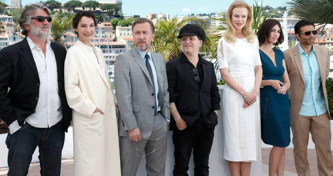 L'équipe de Grace de Monaco avec Nicole Kidman et Tim Roth.