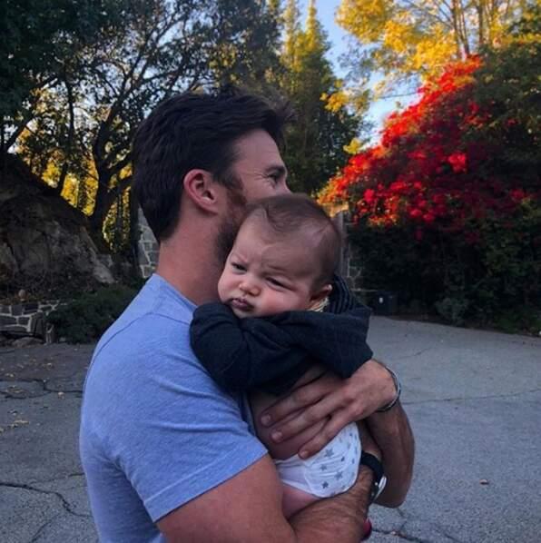 Scott Eastwood nous a présenté son neveu, Titan, et il est beaucoup trop mignon.