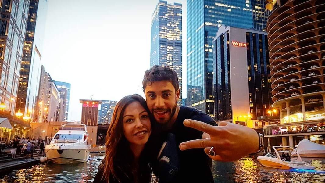 Il s'est offert un road-trip aux Etats-Unis avec sa meilleure amie, Dounia Coesens