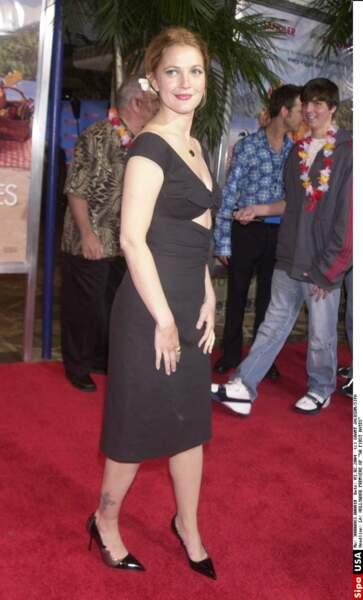 Drew Barrymore a depuis longtemps succombé aux tatoos