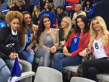 Euro 2016 : People et Wags derrière les Bleus pendant France/Islande