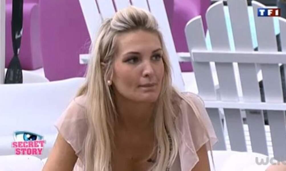 Marie Garet en 2011 dans Secret Story