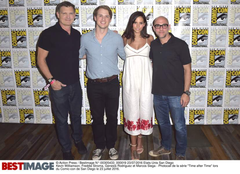 Kevin Williamson (Dawson, Vampire Diaries) est venu présenter sa série Time After Time, avec Freddie Stroma
