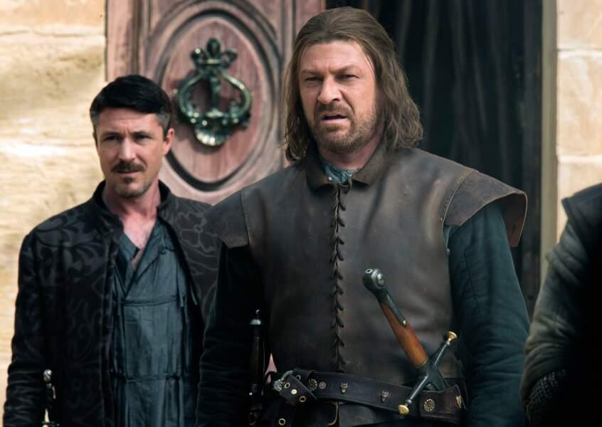 Voici Sean Bean (Ned Stark) dans la série à succès.