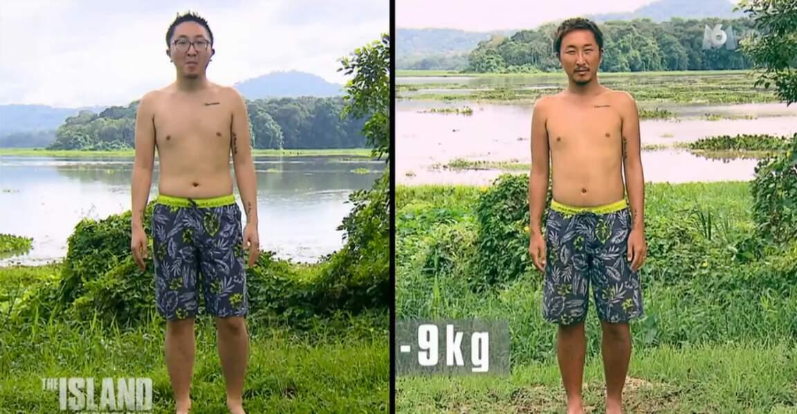 Le jeune Vince a perdu 9 kilos