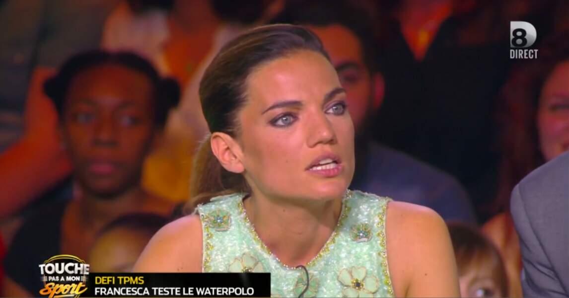 Francesca Antoniotti aime aussi les paillettes !