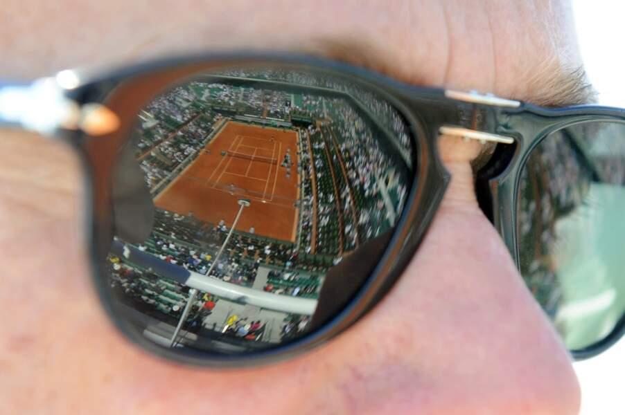 On a regardé le tournoi dans des lunettes...