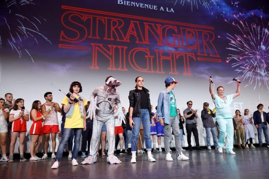 Stranger Night Paris