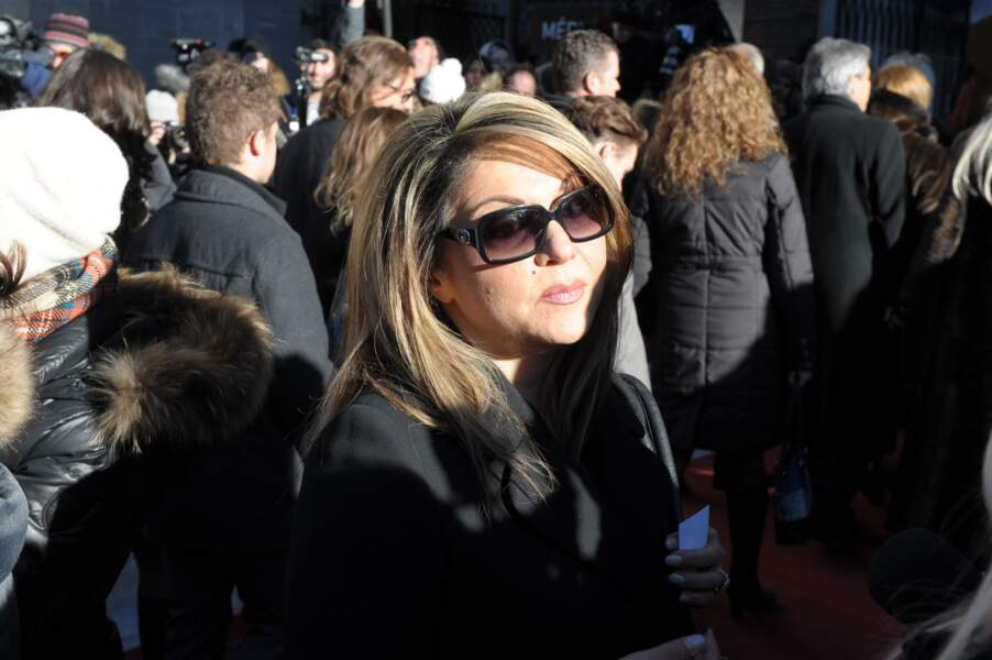 … la chanteuse, actrice et animatrice Sonia Benezra