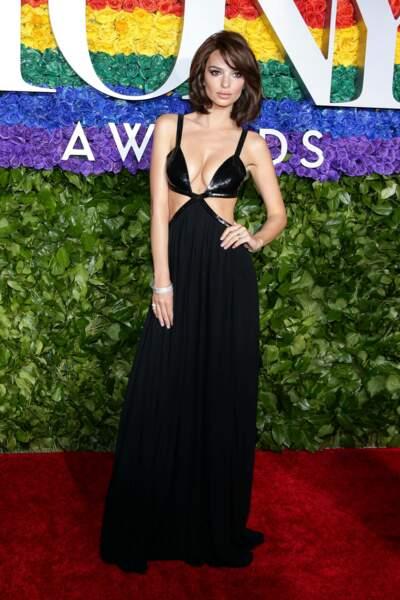 Ce soir-là, Emily Ratajkowski a éclipsé toutes les autres stars
