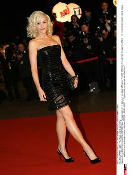 Cette année-là, Gwen Stefani, sans son groupe No doubt, est rentrée bredouille.