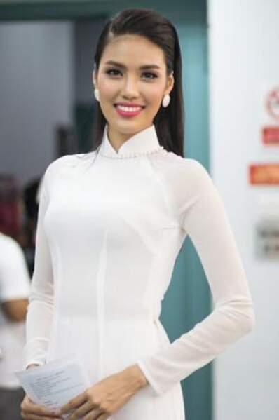 La jolie Trần Ngọc Lan Khue représente le Vietnam