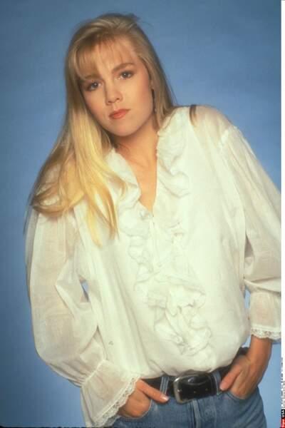 En 1990, le public découvre Jennie Garth dans la série Beverly Hills