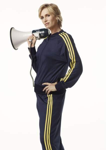 Jane Lynch se glissait dans les survêtements de Sue