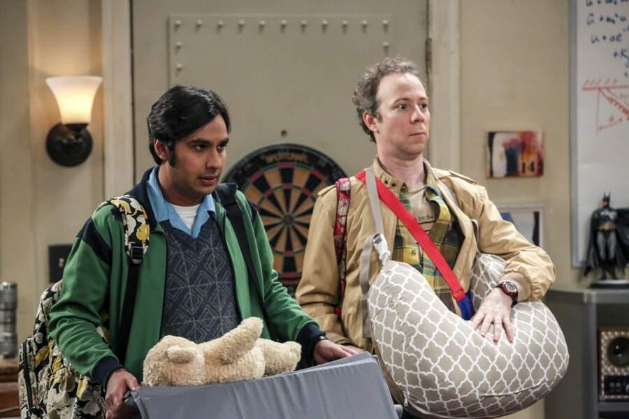 Voici Stuart Bloom, autre personnage de Big Bang Theory