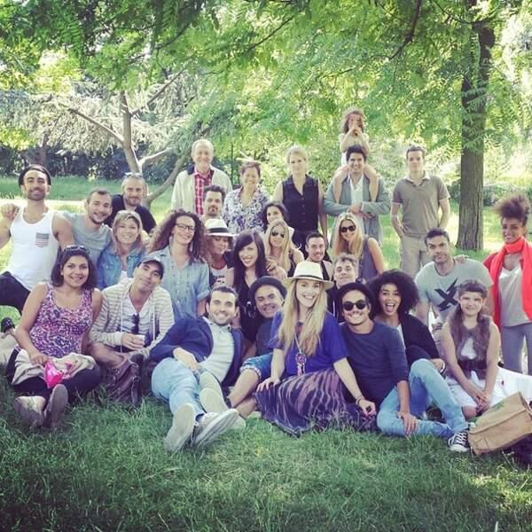 La star de Nos Chers Voisins a fêté son anniversaire avec tous ses copains !