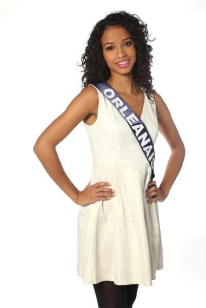 Flora Coquerel, Miss Orléanais 2013
