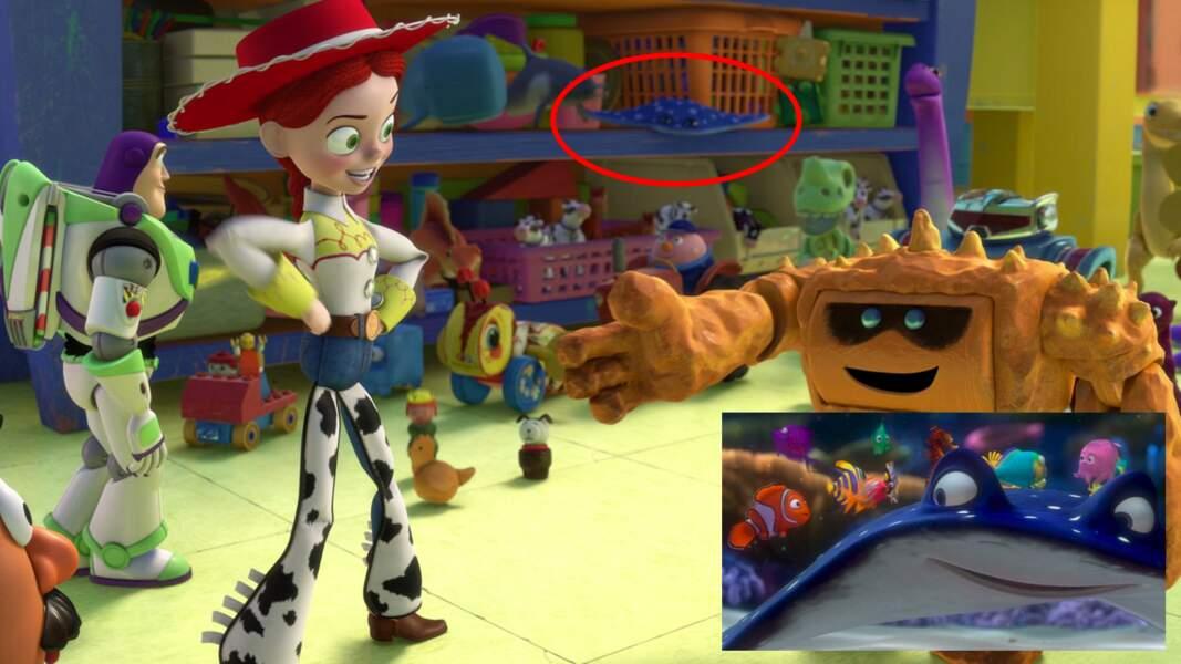 Toy Story 3 : le professeur M. Raie s'est échoué dans la garderie de Sunnyside