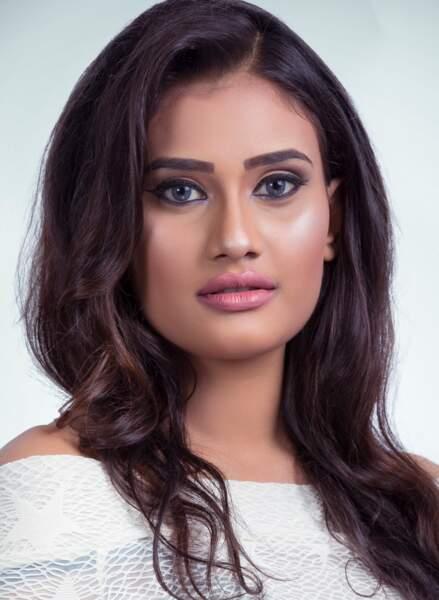 Dusheni Silva D.H.I.M.pour le Sri Lanka