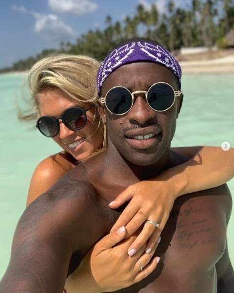 Rio Mavuba et sa femme Elodie sont bien arrivés à Zanzibar.