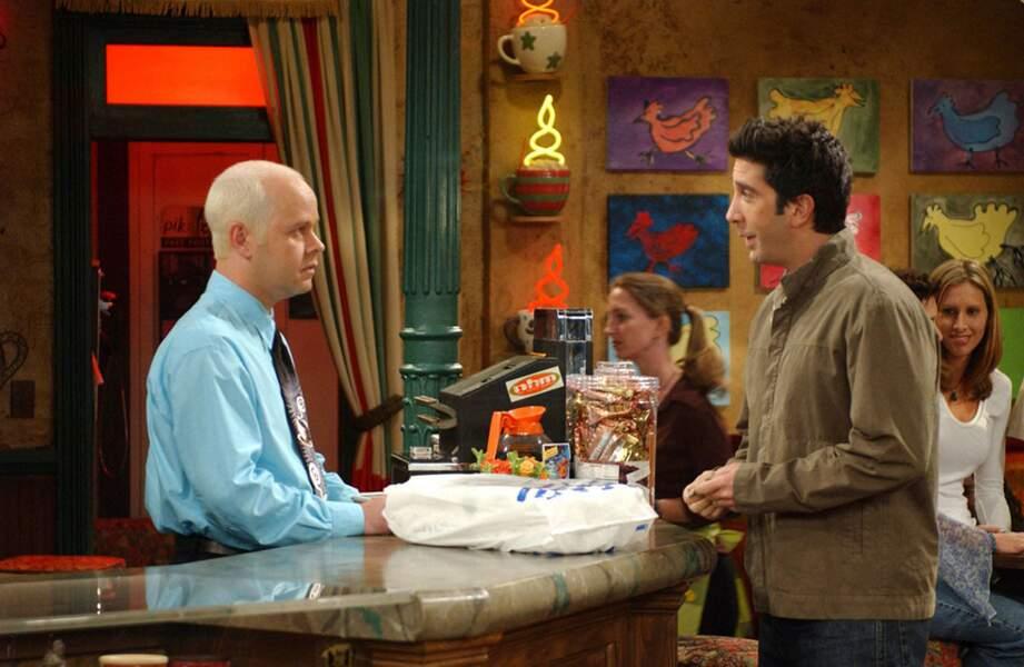 James Michael Tyler incarnait Gunther, le patron du Central Perk, éternel amoureux de Rachel...