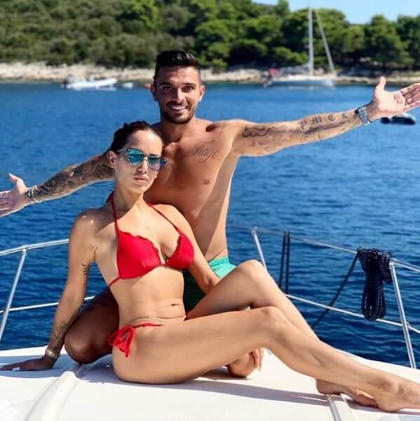 C'est en Croatie que Julien Tanti et Manon Marsault ont passé une partie de leur été