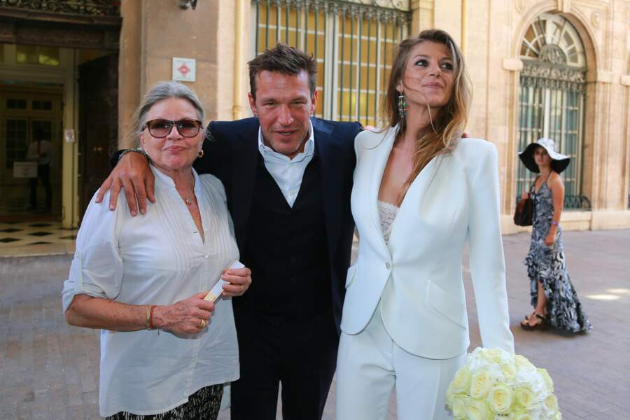 Ils se sont mariés à Marseille, le 27 août 2016, au côté des deux filles d'Aurore et des trois fils de Benjamin.