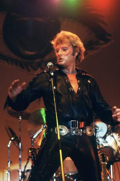 1981 : Fidèle au cuir aussi sur scène
