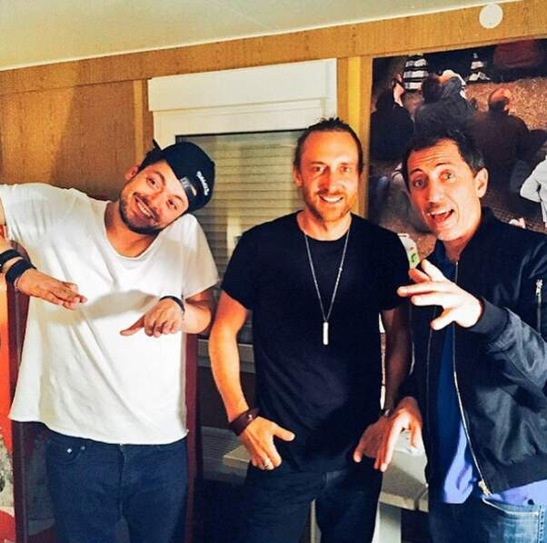 David Guetta et Gad Elmaleh...