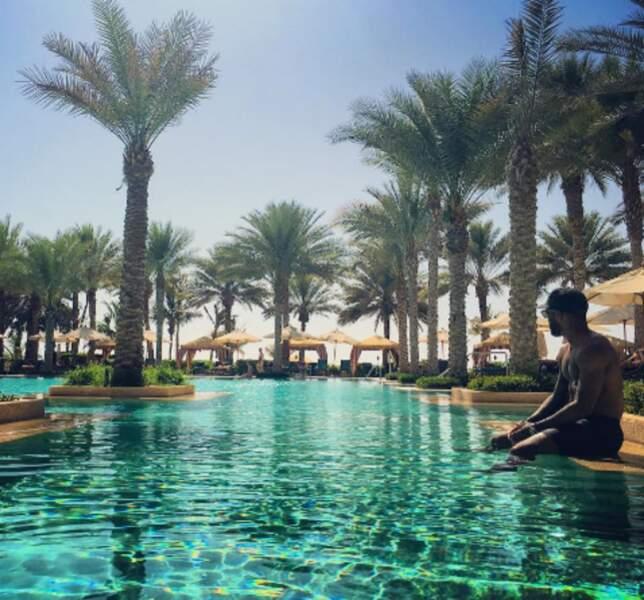 ... Dubaï où se trouve également le footballeur Alexandre Lacazette. A défaut de participer à l'Euro.