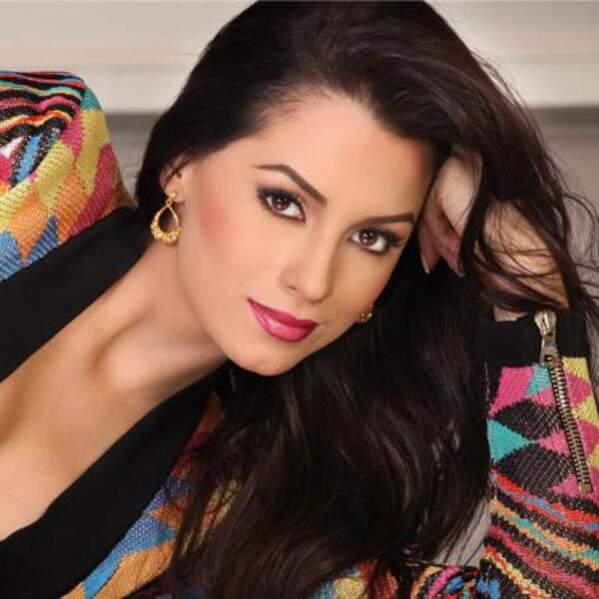 Voici la représentante colombienne, María Alejandra Lopez