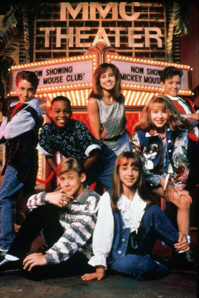 Le casting all stars du Mickey Mouse Club : Ryan Gosling, Britney Spears, Christina Aguilera et Justin Timberlake.