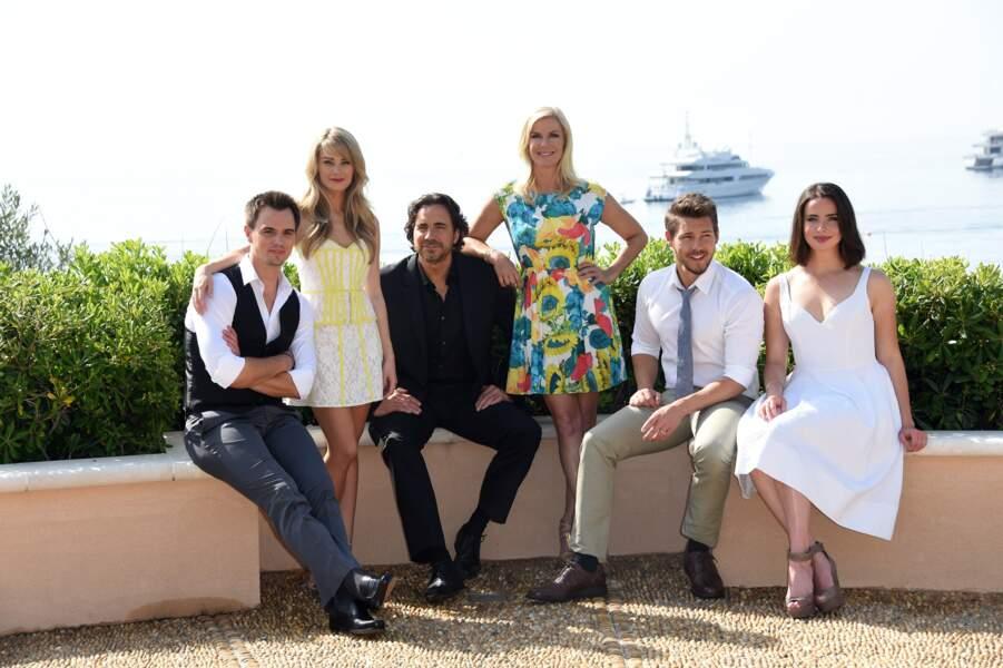 Six acteurs se sont rendus à Monte-Carlo : De nouvelles têtes, et l'éternelle Brooke Logan (Katherine Kelly Lang)
