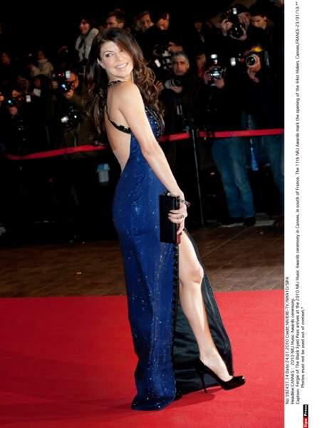 Fergie, des Black Eyed Peas, au temps des grands succès du groupe (2010).