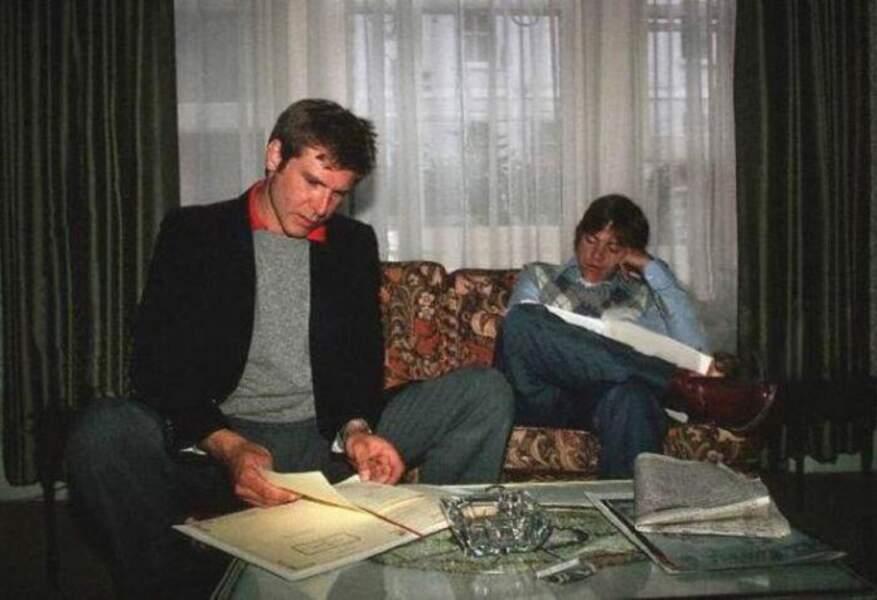 Harrison Ford studieux. On peut pas en dire autant de Mark Hamill. A moins que...