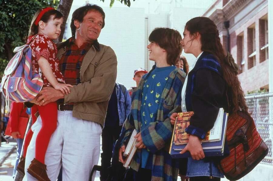 Robin Williams (Daniel Hillard dans le film) en papa poule