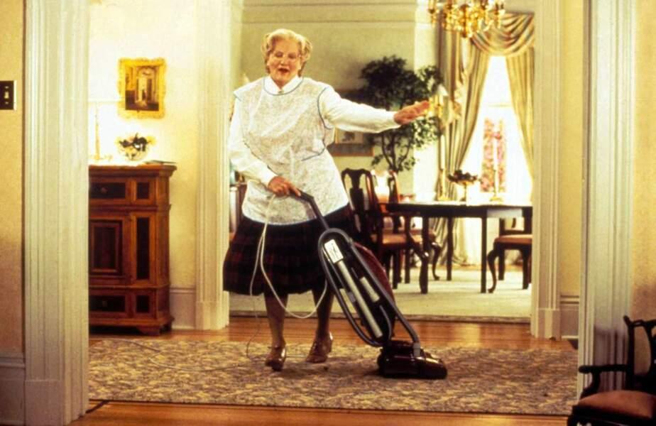 Robin Williams dans Madame Doubtfire en 1993